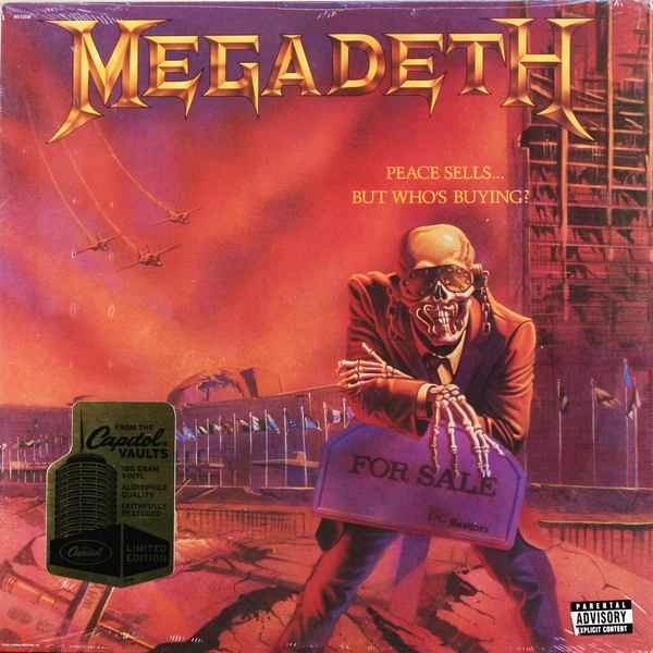 Megadeth Megadeth - Peace Sells… But Who's Buying? (180 Gr) peace