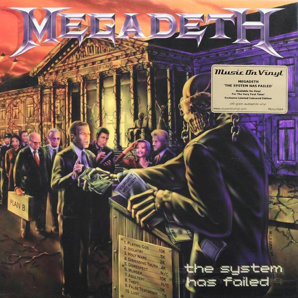 MEGADETH MEGADETH - SYSTEM HAS FAILED (180 GR) megadeth megadeth dystopia