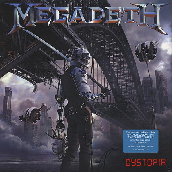 MEGADETH MEGADETH - DYSTOPIA megadeth megadeth dystopia