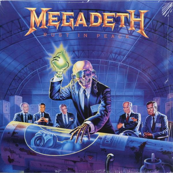 MEGADETH MEGADETH - RUST IN PEACE megadeth megadeth dystopia