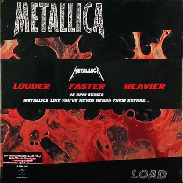 METALLICA METALLICA-LOAD (4 LP, 180 GR)Виниловая пластинка<br><br>
