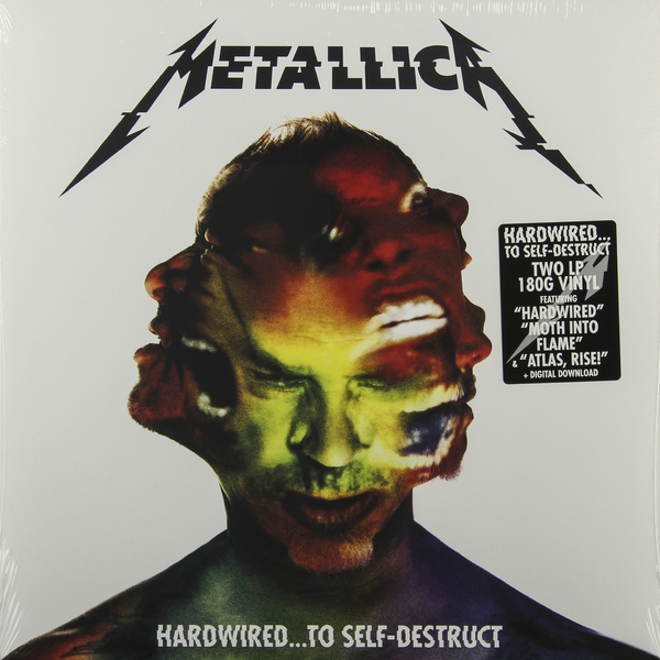 Metallica Metallica - Hardwired… To Self-destruct (2 Lp, 180 Gr) guano apes guano apes proud like a god 180 gr colour