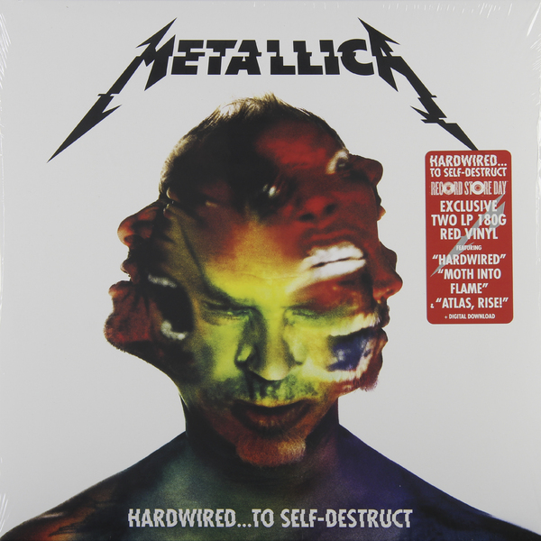 Metallica Metallica - Hardwired… To Self-destruct (color, 2 LP) цена и фото