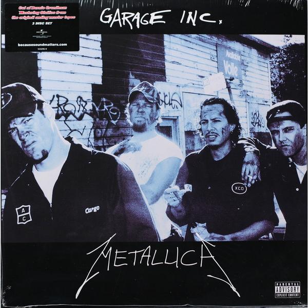 Подробнее о METALLICA METALLICA - GARAGE INC (3 LP) garage 60b 3