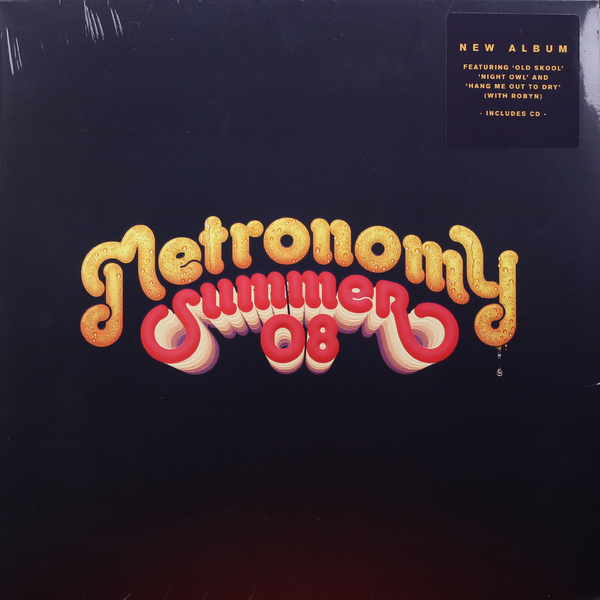 Metronomy Metronomy - Summer 08 (lp + Cd) partners lp cd
