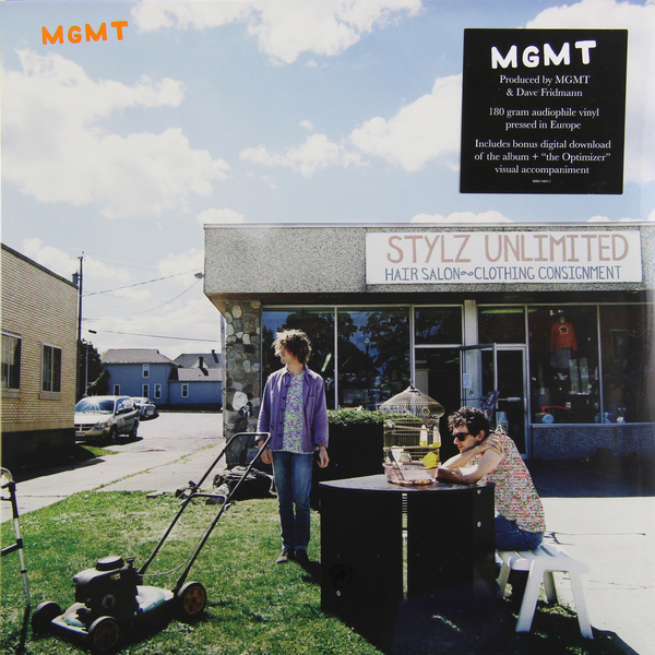 MGMT MGMT - MGMT (180 GR)Виниловая пластинка<br><br>
