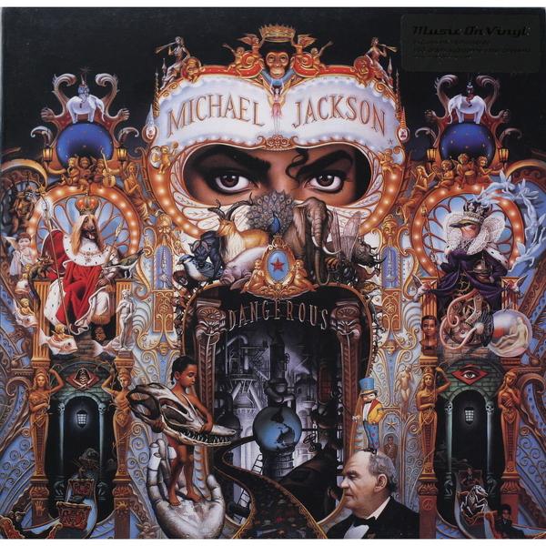 MICHAEL JACKSON MICHAEL JACKSON-DANGEROUS (2 LP, 180 GR)Виниловая пластинка<br><br>