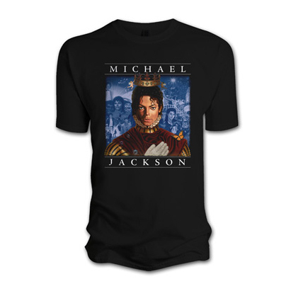 Футболка мужская Michael Jackson - Retrospective Black (размер S)