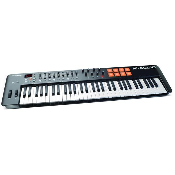 MIDI-клавиатура M-Audio Oxygen 61 MK IV midi клавиатура 61 клавиша m audio code 61 black