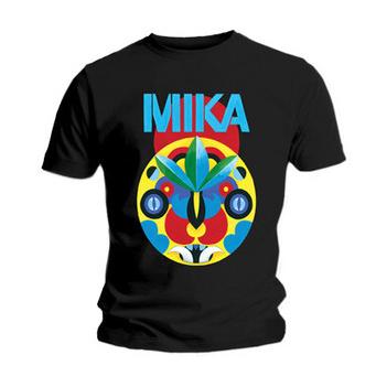 Футболка мужская Mika - Tribal Mask Black (размер L)