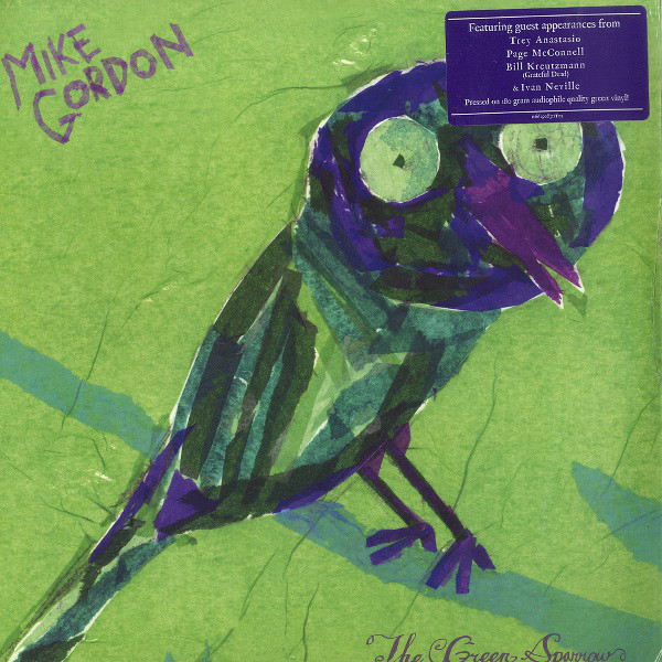 MIKE GORDON MIKE GORDON - THE GREEN SPARROWВиниловая пластинка<br><br>