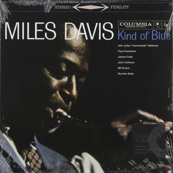 MILES DAVIS MILES DAVIS - KIND OF BLUE miles davis miles davis kind of blue