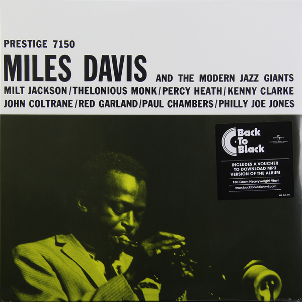 Miles Davis Miles Davis - Miles Davis   The Modern Jazz Giants (180 Gr) miles davis miles davis birth of the cool