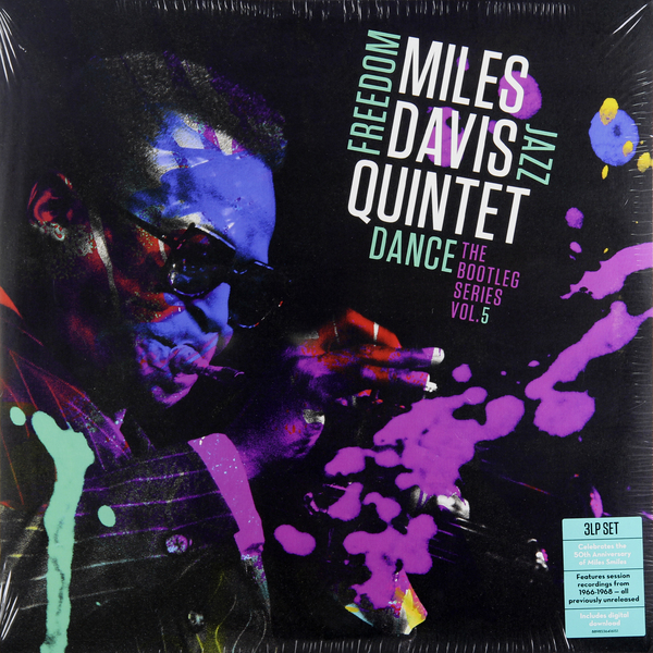 MILES DAVIS MILES DAVIS - MILES DAVIS QUINTET: FREEDOM JAZZ DANCE: THE BOOTLEG SERIES, VOL. 5 (3 LP)  miles davis miles davis miles davis quintet freedom jazz dance the bootleg series vol 5 3 lp