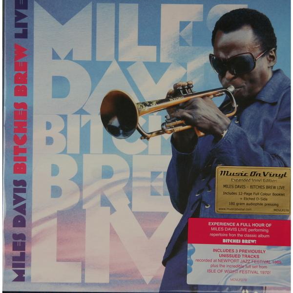 MILES DAVIS MILES DAVIS-BITCHES BREW LIVE (2 LP, 180 GR)Виниловая пластинка<br><br>