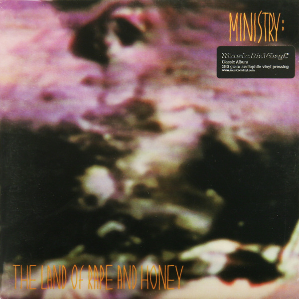 MINISTRY MINISTRY - LAND OF RAPE AND HONEY (180 GR)Виниловая пластинка<br><br>