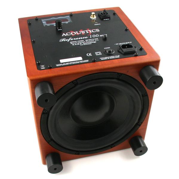 Активный сабвуфер MJ Acoustics Reference 100 MKII Cherry активный сабвуфер mj acoustics pro 100 mkii walnut
