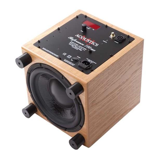 Активный сабвуфер MJ Acoustics Reference 100 MKII Oak активный сабвуфер mj acoustics pro 100 mkii walnut