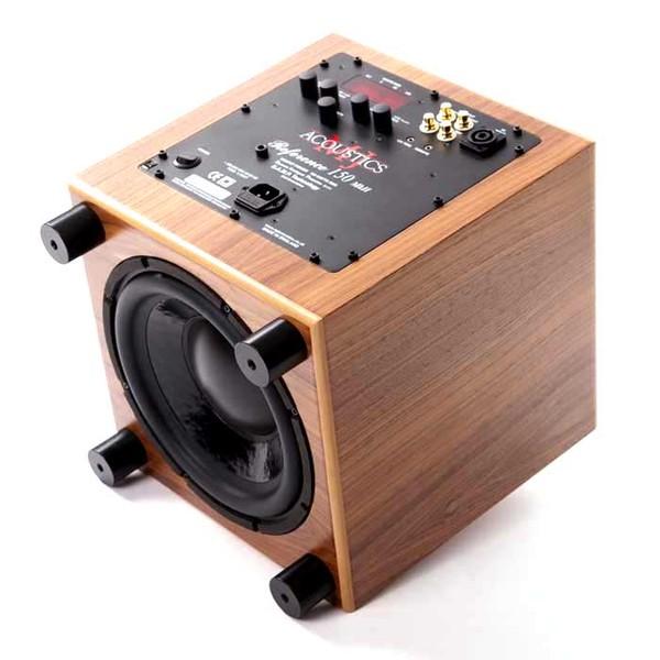 Активный сабвуфер MJ Acoustics Reference 150 MKII Walnut активный сабвуфер mj acoustics pro 100 mkii walnut
