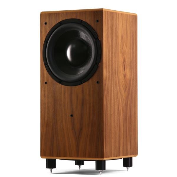 Активный сабвуфер MJ Acoustics Reference 210 Walnut активный сабвуфер mj acoustics pro 100 mkii walnut