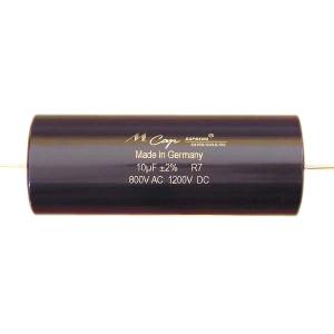 Mundorf MKP  MCap Supreme silver/gold/oil 1000 VDC 10 uF mundorf mkp mcap supreme silver oil 1000 vdc 10 uf