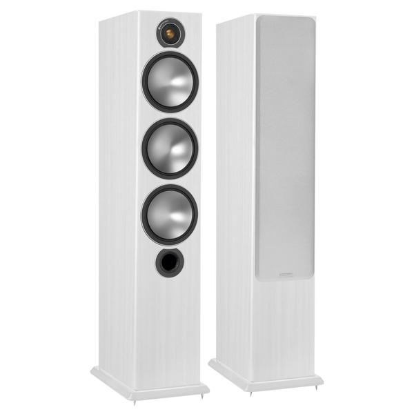 Напольная акустика Monitor Audio Bronze 6 White Ash акустика центрального канала heco music style center 2 piano white ash decor white