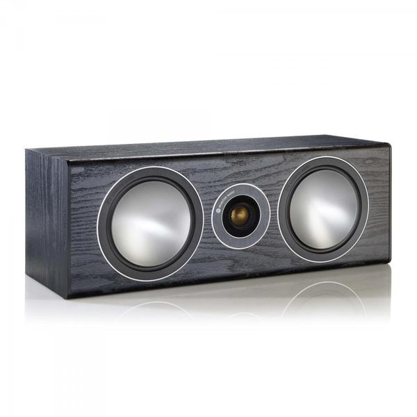 Центральный громкоговоритель Monitor Audio Bronze Centre Black Oak акустика центрального канала asw opus с 14 light oak eggshell black