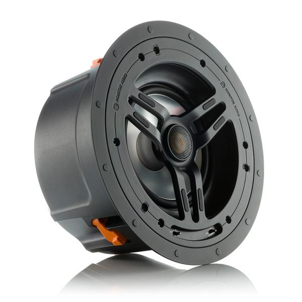 Встраиваемая акустика Monitor AudioВстраиваемая акустика<br>Встраиваемая акустическая система с возможностью коррекции звучания, 2 полосы, 2 динамика: ВЧ 25 мм, НЧ 152 мм, сопротивление 6 Ом, чувствительность 88 дБ, диапазон частот 66 Гц – 25 кГц, монтажное отверстие 244 (диаметр) х 151 мм.<br>