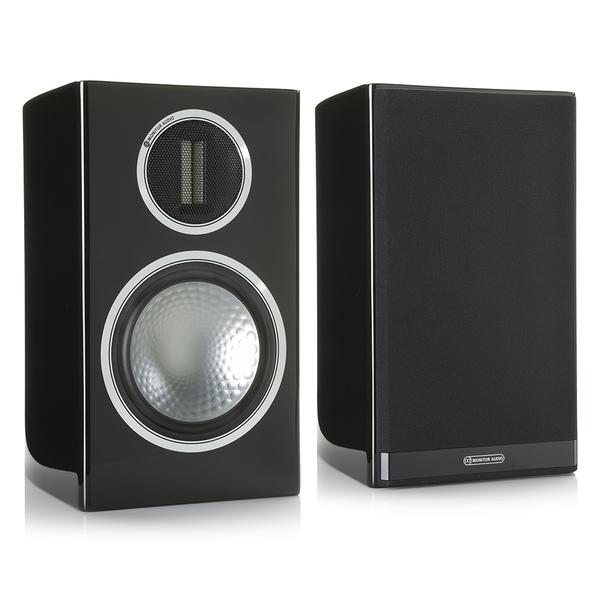 Полочная акустика Monitor Audio Gold 100 Piano Black центральный громкоговоритель monitor audio gold c150 piano black