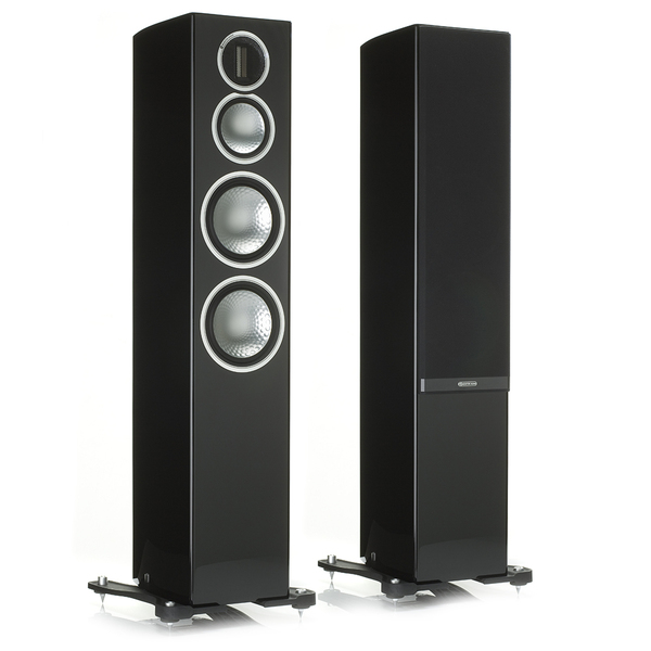 Напольная акустика Monitor Audio Gold 300 Piano Black акустика центрального канала vienna acoustics theatro piano black
