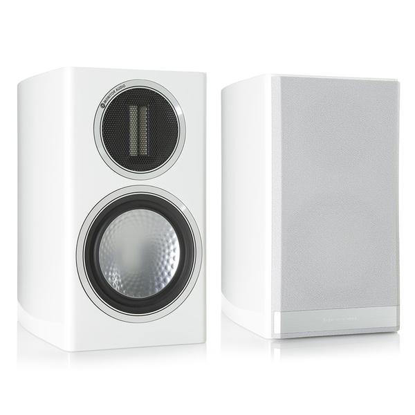 Полочная акустика Monitor Audio Gold 50 Piano White напольная акустика monitor audio gold 200 piano white