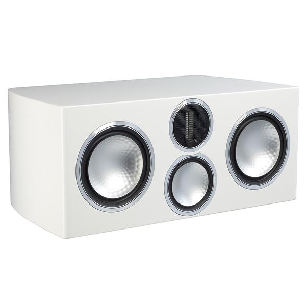 Центральный громкоговоритель Monitor Audio Gold C350 Piano White центральный громкоговоритель monitor audio gold c150 piano black