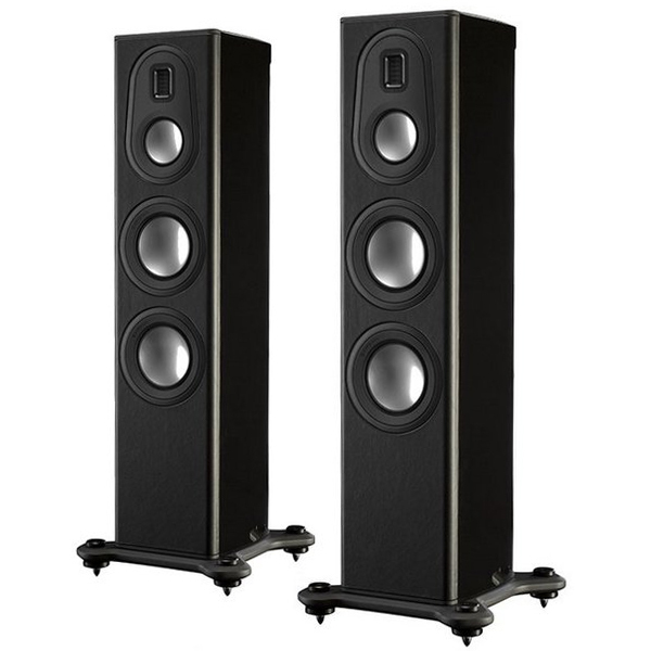 Напольная акустика Monitor Audio Platinum PL200 II Black Gloss напольная акустика dynaudio confidence c2 platinum black laquer