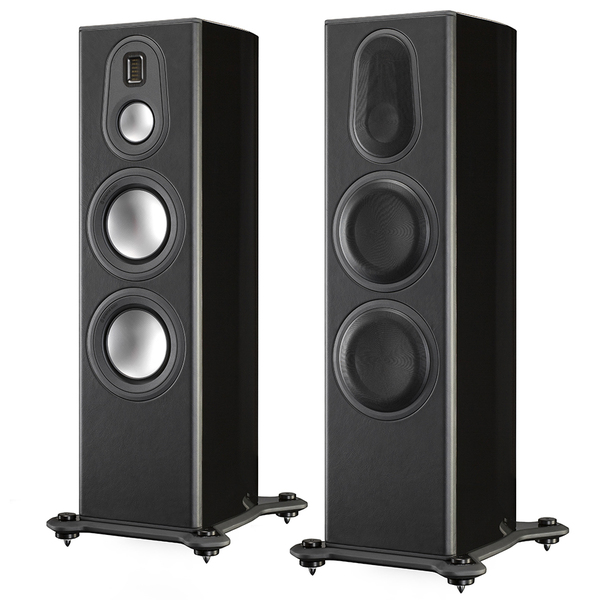 Напольная акустика Monitor Audio Platinum PL300 II Black Gloss напольная акустика dynaudio confidence c2 platinum black laquer