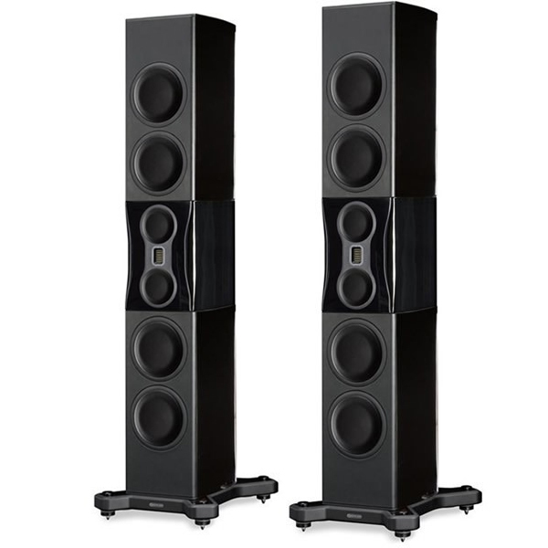 Напольная акустика Monitor Audio Platinum PL500 II Black Gloss напольная акустика dynaudio confidence c2 platinum black laquer