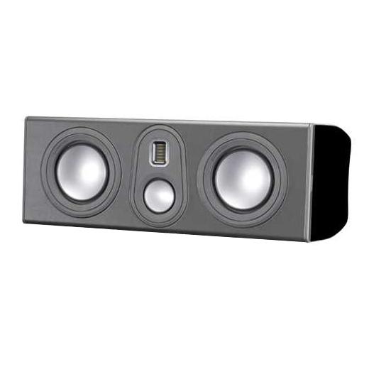 Центральный громкоговоритель Monitor Audio Platinum PLC350 II Black Gloss акустика центрального канала piega classic center large macassar high gloss
