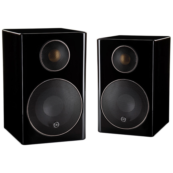 Полочная акустика Monitor Audio Radius 90 High Gloss Black акустика центрального канала audio physic classic center glass black high gloss