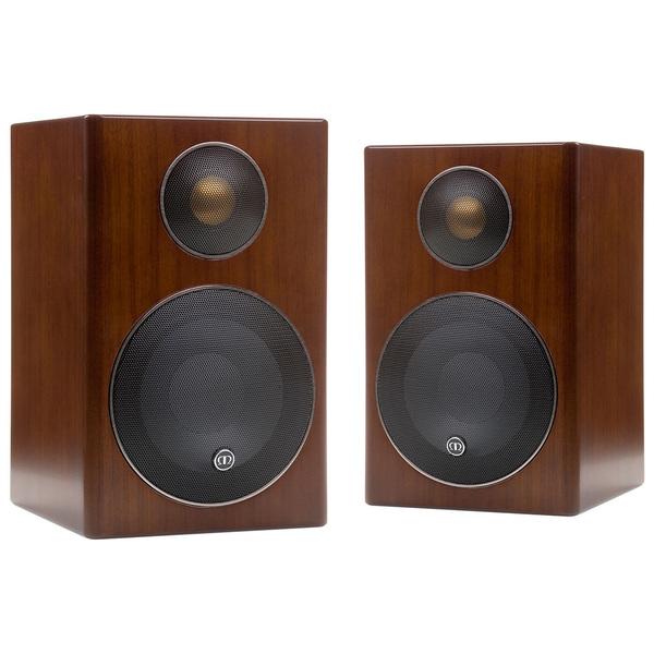 Полочная акустика Monitor Audio Radius 90 Walnut audio physic tempo 25 walnut