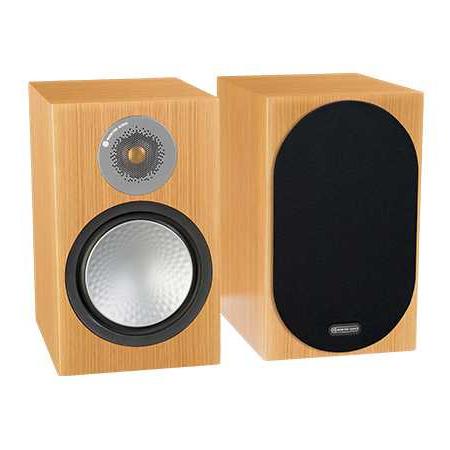Полочная акустика Monitor Audio Silver 100 Natural Oak центральный громкоговоритель monitor audio silver c350 natural oak