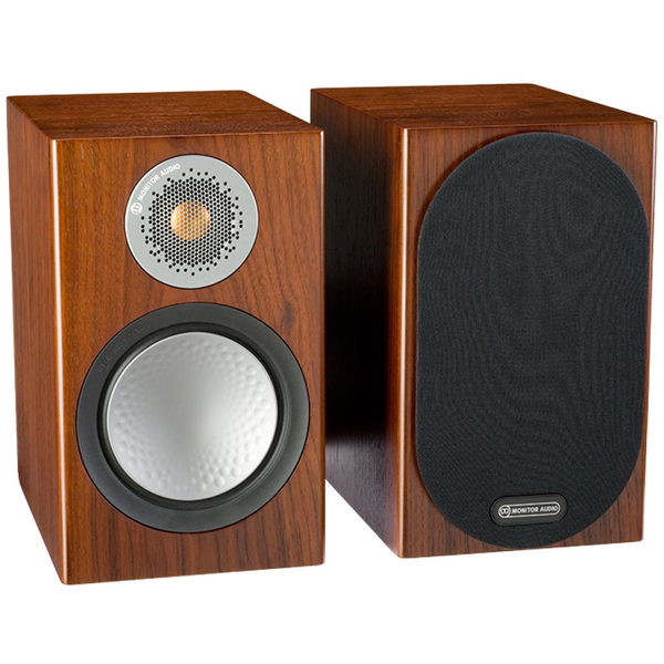 Полочная акустика Monitor Audio Silver 50 Walnut напольная акустика monitor audio silver 10 walnut