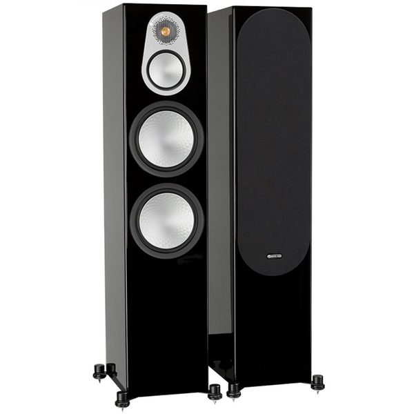 Напольная акустика Monitor Audio Silver 500 Black Gloss цена 2016