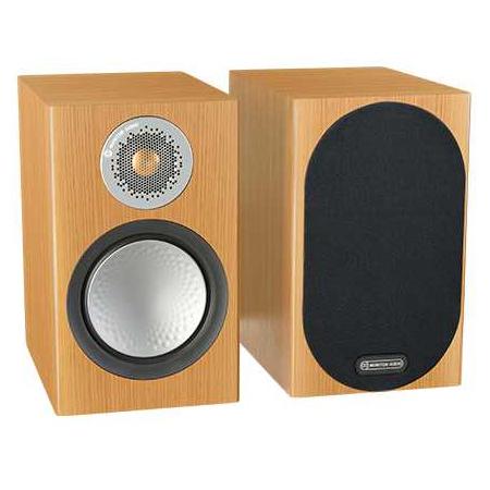 Полочная акустика Monitor Audio Silver 50 Natural Oak центральный громкоговоритель monitor audio silver c350 natural oak