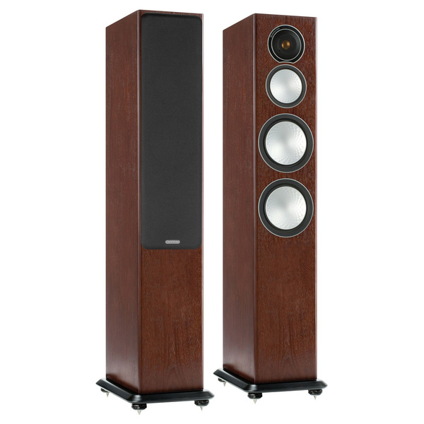 Напольная акустика Monitor Audio Silver 8 Walnut ключница акита 32х46 см aki 1007
