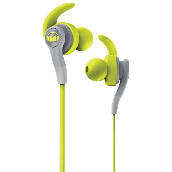 все цены на  Внутриканальные наушники Monster iSport Compete In-Ear Green  онлайн