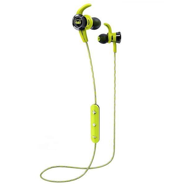 Беспроводные наушники Monster iSport Victory In-Ear Wireless Green