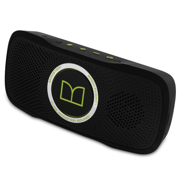 Портативная колонка Monster SuperStar BackFloat Bluetooth Waterproof Floating Neon Green