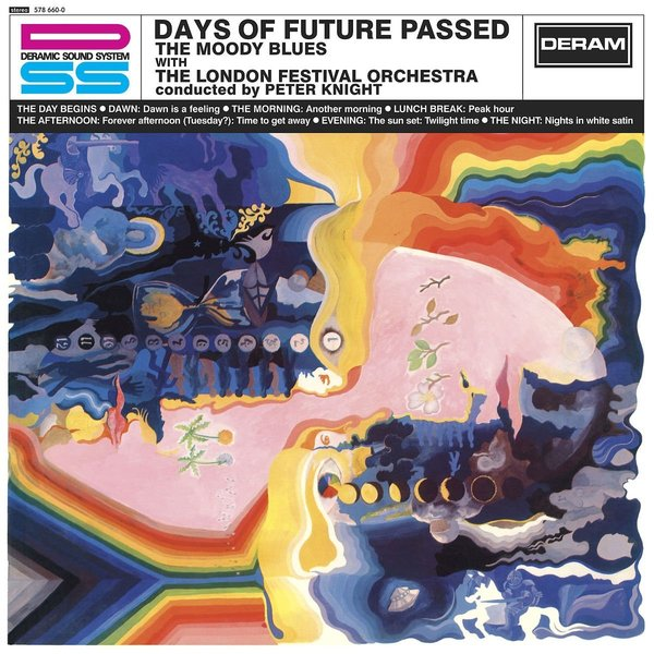 Moody Blues Moody Blues - Days Of Future Passed days of reading