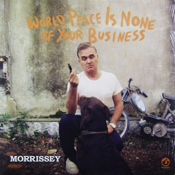 MORRISSEY MORRISSEY - WORLD PEACE IS NONE OF YOUR BUSINESS (2 LP)Виниловая пластинка<br><br>