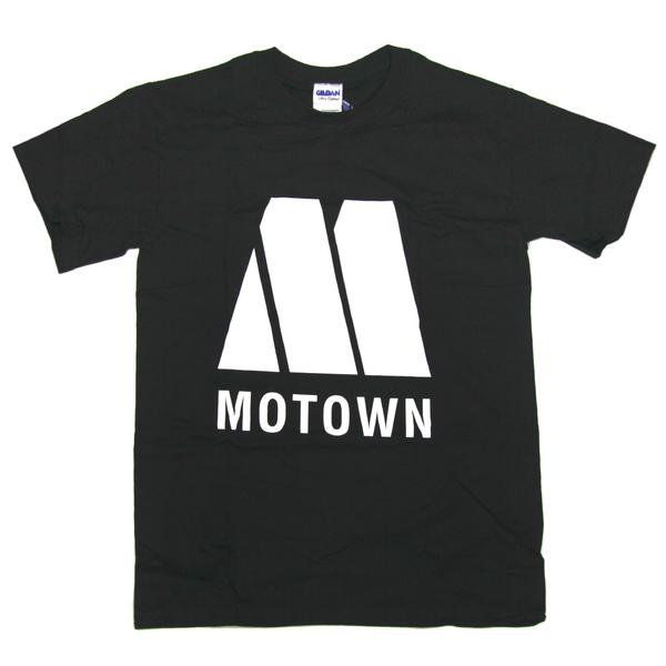 Футболка мужская Motown - Classic Logo Black (размер S) от Audiomania