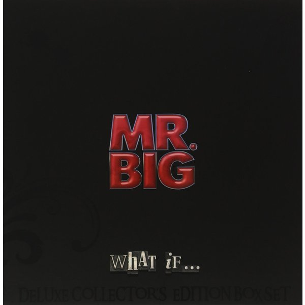 Mr Big Mr Big - What If (lp+cd+dvd) mr big what if deluxe collector s edition cd dvd lp